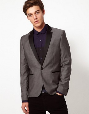 Image 1 ofSelected Blazer with Contrast Lapel