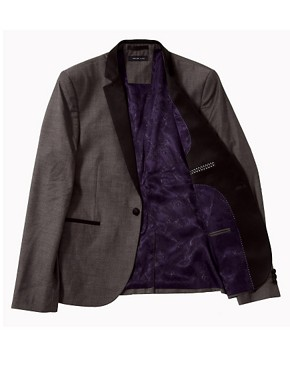 Image 3 ofSelected Blazer with Contrast Lapel