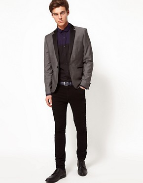 Image 4 ofSelected Blazer with Contrast Lapel
