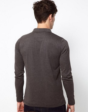 Image 2 ofFrench Connection Long Sleeve Jersey Polo