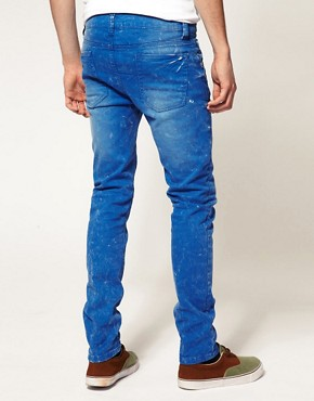 Image 2 ofASOS Skinny Blue Jeans