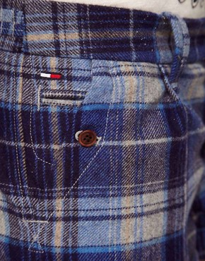 Image 3 ofHilfiger Denim Checked Shorts