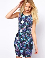 A Wear Digital Floral Print Dress
