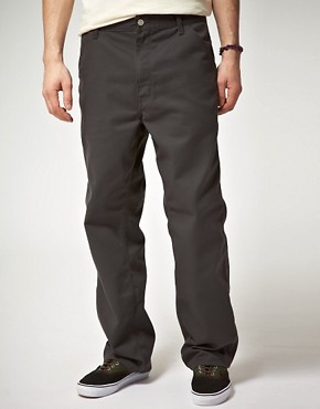 Bild 1 von Carhartt  Schlichte, locker geschnittene Chinohose