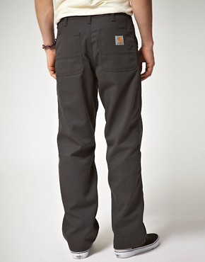 Bild 2 von Carhartt  Schlichte, locker geschnittene Chinohose