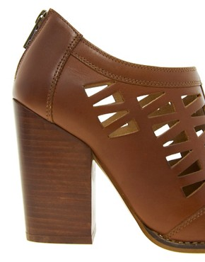 Image 2 ofASOS TEXAS Leather Shoe Boots