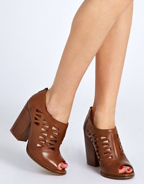 Image 3 ofASOS TEXAS Leather Shoe Boots
