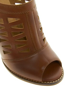 Image 4 ofASOS TEXAS Leather Shoe Boots