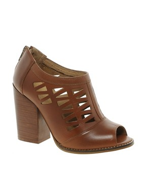 Image 1 ofASOS TEXAS Leather Shoe Boots