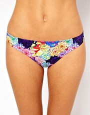 ASOS Penelope Floral Hipster Bikini Pant