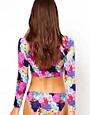 Image 2 ofASOS Penelope Floral Hipster Bikini Pant