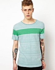 Insight T-Shirt Mexi Cali Jaquard Knit