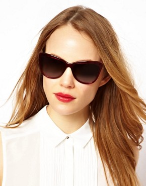 Image 3 ofDolce And Gabanna Mambo Collection Red Sunglasses