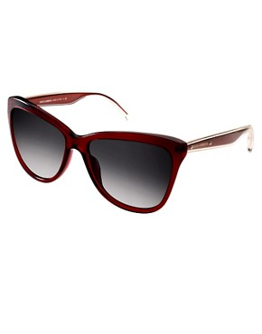 Image 1 ofDolce And Gabanna Mambo Collection Red Sunglasses