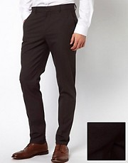 Pantalones de vestir de corte pitillo de ASOS
