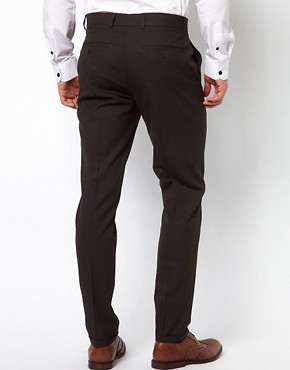 Image 2 ofASOS Skinny Fit Smart Trousers