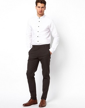 Image 4 ofASOS Skinny Fit Smart Trousers
