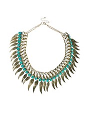 River Island Angel Wing Necklace