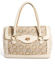 Oasis Cutwork Shoulder Bag