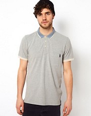 Paul Smith Jeans Polo with Small Collar