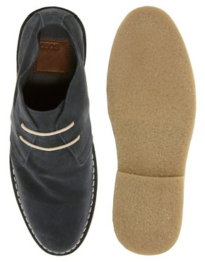 Image 2 ofASOS Desert Boots in Suede