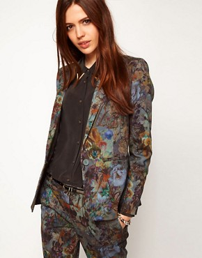 ASOS Premium Floral Printed Jacket
