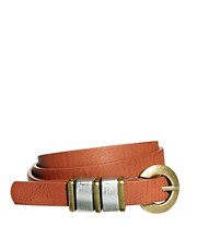 ASOS Chunky Metal Keeper Waist belt