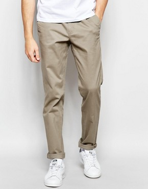 Cheap Monday Slack Chinos Tapered Fit in Dirt Beige