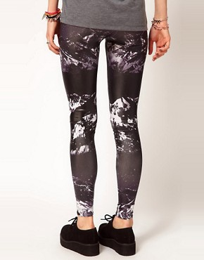 Image 2 ofBambam Leggings in Les Arcs Print