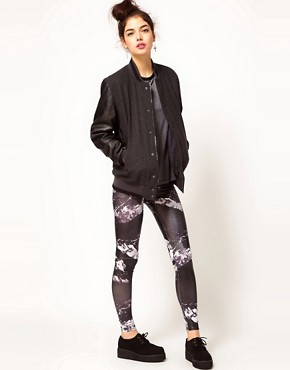 Image 1 ofBambam Leggings in Les Arcs Print