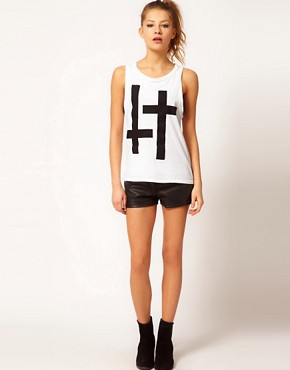 Image 4 ofHearts &amp; Bows Double Cross Boyfriend Vest