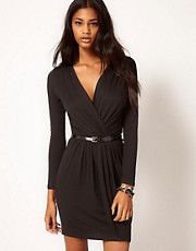 ASOS Wrap Dress With Belt