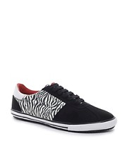 ASOS Trainers in Zebra Print