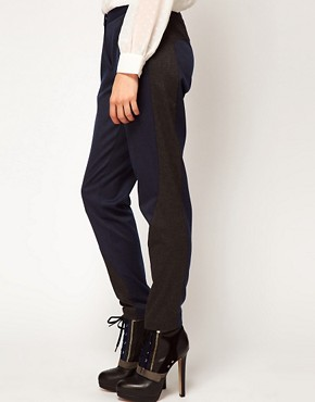 Image 4 ofASOS Trousers With Contrast Panels