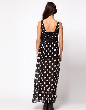 Image 2 ofOne Teaspoon Control Yourself Polka Dot Maxi Dress