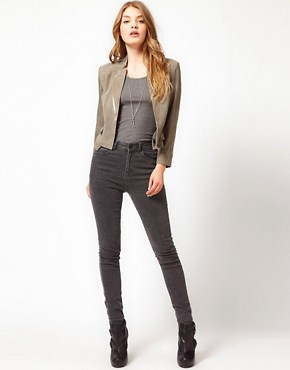 Image 4 ofUrban Code Suede Crop Jacket
