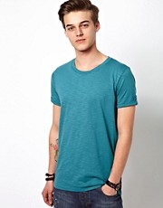 Suit T-Shirt With Rolled Sleeve