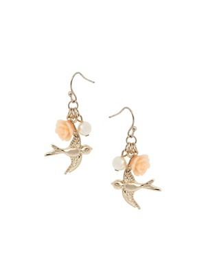 Image 1 ofOasis Swallow Drop Earrings