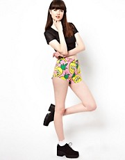 Lazy Oaf &ndash; Shorts mit Ananas-Design