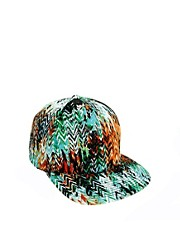 ASOS Snap Back Cap with Zig Zag Fabric