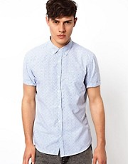 River Island Shirt with Ditsy Print