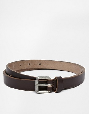 New Look Skinny Leather Belt