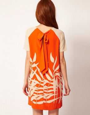 Image 2 ofWhistles Palm Print Shift Dress