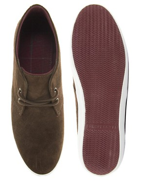 Image 3 ofFred Perry Byron Mid Suede Chukka Boots