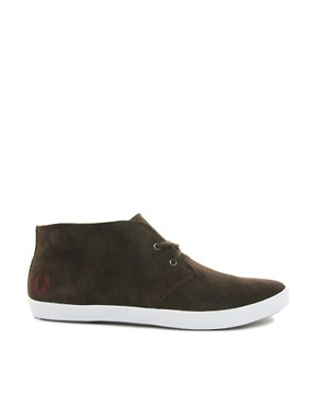 Image 4 ofFred Perry Byron Mid Suede Chukka Boots