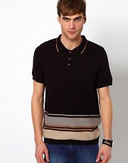 River Island Knitted Polo Shirt