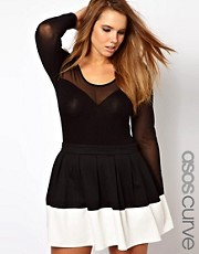 ASOS CURVE Exclusive Mesh Body