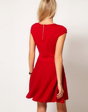 Image 2 ofOasis Fit &amp; Flare Knit Dress