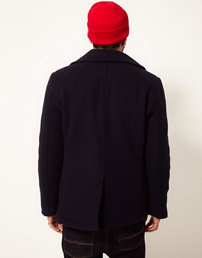 Image 2 ofAlpha Industries US Navy Peacoat