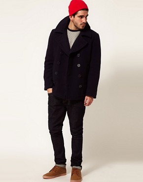 Image 4 ofAlpha Industries US Navy Peacoat